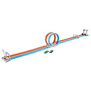 Hot Wheels® Double Loop Dash™ Track Set