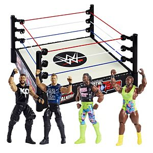 WWE® Tough Talkers™ Ring + Action Figures Gift Set