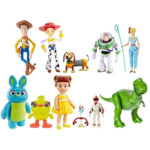Disney Pixar Toy Story 4 Basic Character Figure Collection
