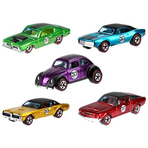 HW 50th Anniversary Five-Car Set
