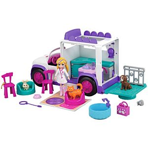 Polly Pocket® Cuddle 'n' Care™ Mobile Vet