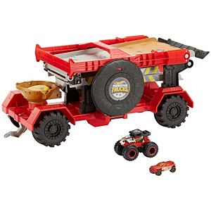 Hot Wheels®  Monster Trucks Downhill Race & Go Play Set