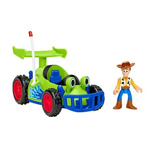 Imaginext® Disney Toy Story Woody Figure & RC Vehicle