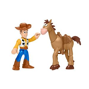 Imaginext® Disney Toy Story Woody & Bullseye Figure Pack