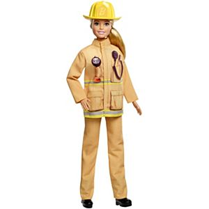 Barbie® 60th Anniversary Firefighter Doll