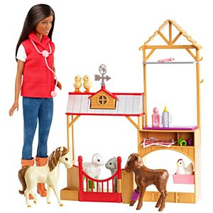 Barbie® Sweet Orchard Farm™ Doll & Vet Playset