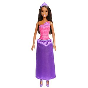 Barbie® Dreamtopia Princess Doll - Brunette, Wearing Shimmery Purple Skirt and Matching Tiara