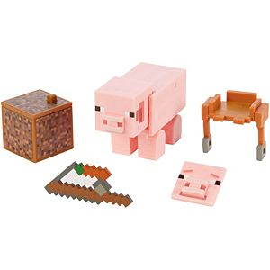 Minecraft Comic Maker Pig Action Figure