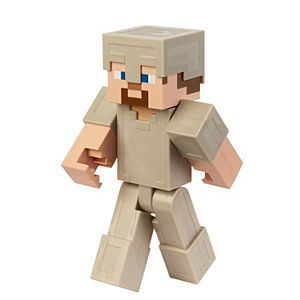 Minecraft Steve in Iron Armor 12-inch Action Figure