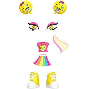 Lotta Looks™ Rainbow Cute Mood Pack with Plug/Play Pieces