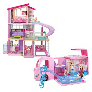 Barbie® Home and Camper Gift Set