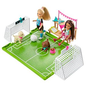 Barbie™ Dreamhouse Adventures 6-inch Chelsea™ Doll with Soccer Playset and Accessories