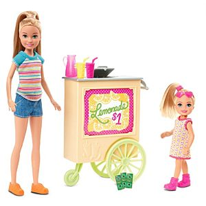 Barbie® Team Stacie™ Lemonade Stand Playset with 2 Dolls