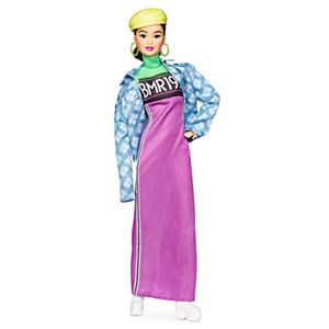 Barbie® BMR1959™ Doll - Neon Motocross Dress & Oversized Denim Jacket