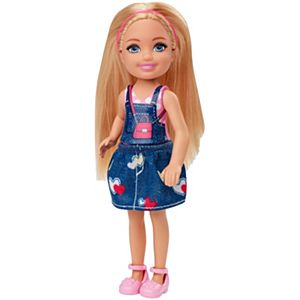 Barbie® Club Chelsea™ Doll (6-inch Blonde) with Graphic Top and Jean Skirt