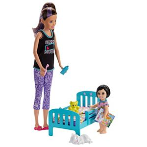 Barbie® Skipper™ Babysitters Inc.™ Bedtime Playset with Skipper™ Doll, Toddler Doll and More
