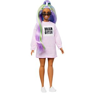 Barbie® Fashionistas™ Doll #136 with Long Rainbow Hair