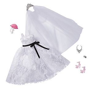 Barbie® Fashion Pack: Bridal Outfit for Barbie® Doll with Wedding Dress & 5 Accessories