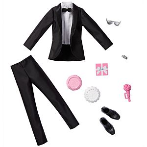 Barbie® Fashion Pack: Bridal Outfit for Ken® Doll with Tuxedo & 7 Accessories