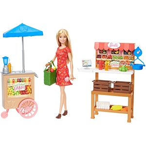Barbie® Sweet Orchard Farm™ Farmers Market Playset with Barbie® Doll