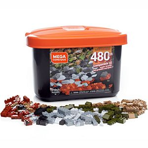Mega Construx Medium Bulk Tub Set - 480pcs