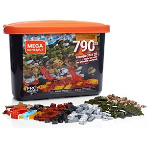 Mega Construx Large Bulk Tub Set - 790pcs