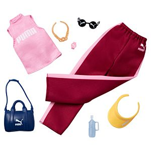 Barbie® PUMA® Fashion Pack with Outfit and 6 Accessories