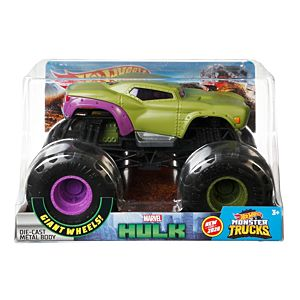 Hot Wheels® Monster Trucks Hulk 1:24 Scale Vehicle