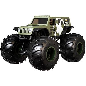 Hot Wheels™ Monster Trucks 1:24 JEEP® Vehicle
