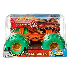 Hot Wheels® Monster Trucks Mega-Wrex 1:24 Scale Vehicle
