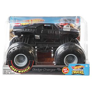 Hot Wheels® Monster Trucks 1:24 Dodge Charger Vehicle