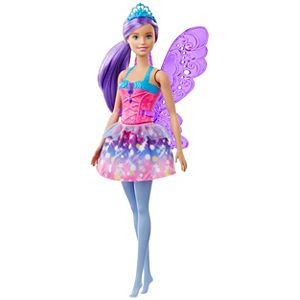 Barbie™ Dreamtopia Fairy Doll, 12-inch, Purple Hair, with Wings and Tiara