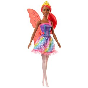 Barbie™ Dreamtopia Fairy Doll, 12-inch, with Pink Hair, Light Pink Legs & Wings, Gift for 3 to 7 Year Olds