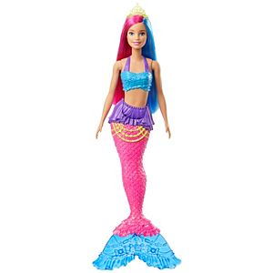 Barbie™ Dreamtopia Mermaid Doll, 12-inch, Pink and Blue Hair