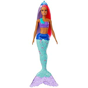 Barbie® Dreamtopia Surprise Mermaid Doll - Pink and Purple Hair