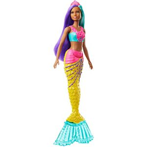 Barbie Dreamtopia™ Mermaid Doll, 12-inch, Teal and Purple Hair