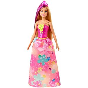 Barbie Dreamtopia™ Princess Doll, 12-inch, Blonde with Purple Hairstreak