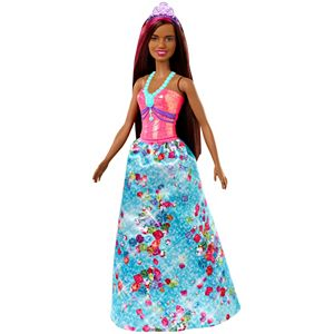 Barbie Dreamtopia™ Princess Doll, 12-inch, Brunette with Pink Hairstreak