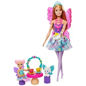 Barbie® Dreamtopia Tea Party Playset with Barbie® Fairy Doll and Accessories