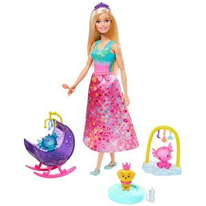 Barbie™ Dreamtopia Dragon Nursery Playset with Barbie® Princess Doll and Accessories