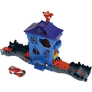 Hot Wheels® Croc Mansion Attack Playset