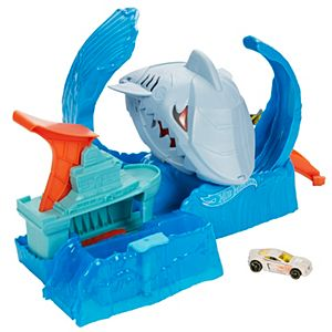 Hot Wheels™ City Color Shifter Shark Jump Play Set