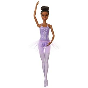 Barbie® Ballerina Doll, Brunette, Purple Tutu