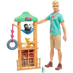 ​Ken™ Wildlife Vet Playset with Doll, Vet Care Station and Accessories