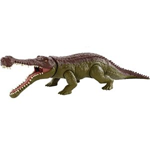 Jurassic World Massive Biters™ Sarcosuchus Larger-Sized Dinosaur Action Figure