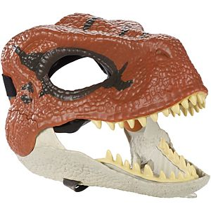 Jurassic World Velociraptor Mask with Opening Jaw, Texture and Color