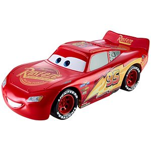 Disney and Pixar Cars Ultimate Lights & Sounds Lightning McQueen 8-inches Talking Toy
