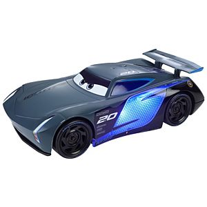 Disney and Pixar Cars Ultimate Lights & Sounds Jackson Storm 8-inches Talking Toy