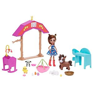 Enchantimals™ Barnyard Nursery Playset With Haydie Horse™ Doll & Trotter™