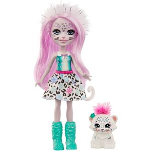 Enchantimals™ Sybill Snow Leopard™ & Flake™ Dolls